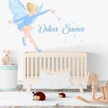 Vinilos decorativos infantiles hada mágica