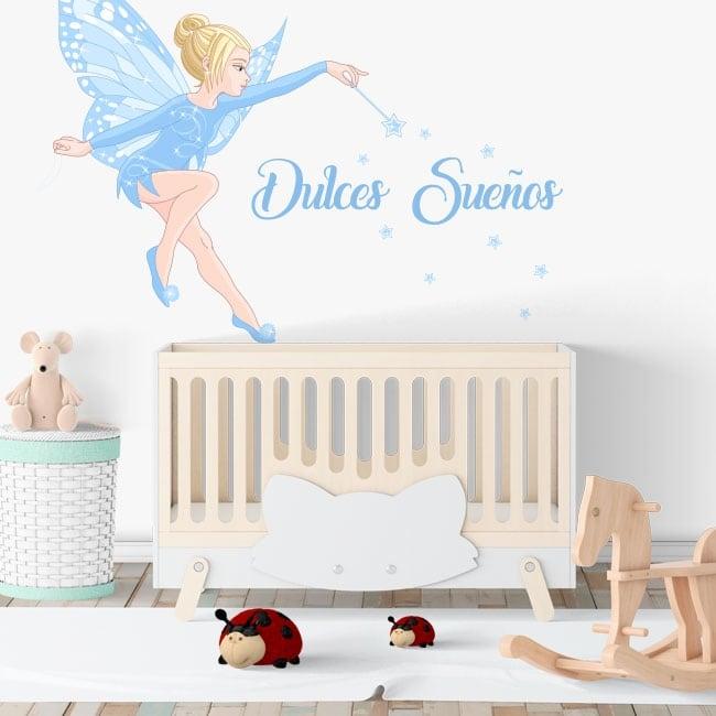 Hadas Vinilos Decorativos Infantiles.Vinilos Decorativos Infantiles Hada Magica