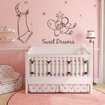 Vinilos decorativos infantiles ángel sweet dreams