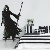 Vinilos decorativos y pegatinas de la muerte