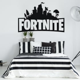 Vinilos decorativos y pegatinas de fortnite