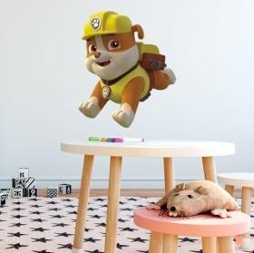 Vinilos y pegatinas rubble la patrulla canina