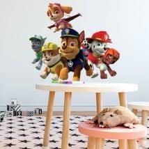 Vinilos y pegatinas personajes de la patrulla canina