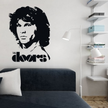 Vinilos decorativos jim morrison the doors