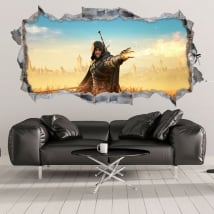 Vinilos decorativos witcher fantasy 3d