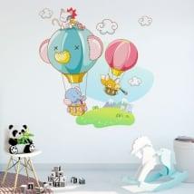 Vinilos decorativos y pegatinas aventuras infantiles