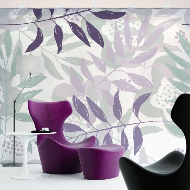 Fotomurales flores para decorar paredes y objetos