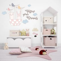 Vinilos decorativos y pegatinas follow your dreams