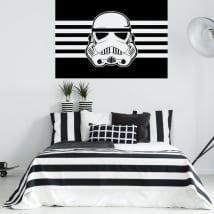 Pegatinas y vinilos decorativos stormtrooper star wars