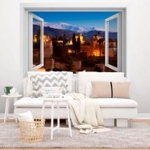 Vinilos decorativos la alhambra 3d
