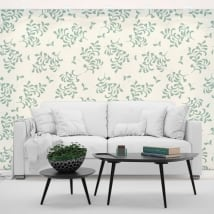 Fotomurales de vinilos flores paredes y objetos
