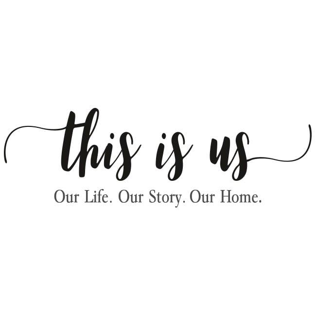 Vinilos Frases Motivadoras En Inglés This Is Us