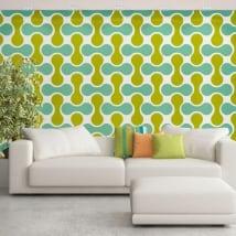 Fotomurales de vinilos adhesivos paredes estilo retro