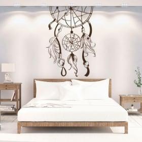 Vinilo pared decorativo atrapa sueños