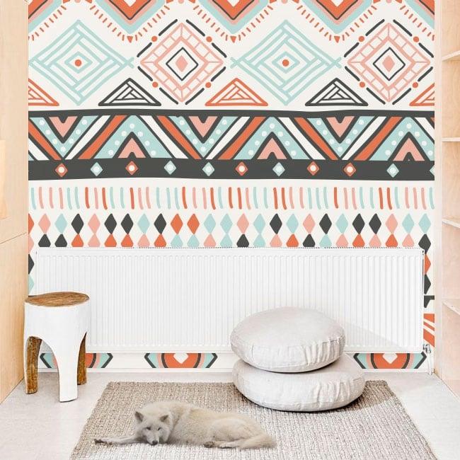 Fotomurales de vinilos decorativos con estilo hippie
