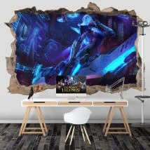 Vinilos decorativos videojuegos league of legends 3d
