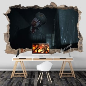 Vinilos y pegatinas videojuegos resident evil 3d