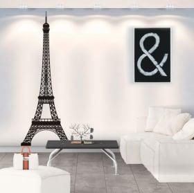 Vinilos y pegatinas torre eiffel parís francia