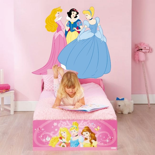 Vinilos decorativos princesas disney