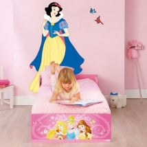 Vinilos decorativos princesa blancanieves disney