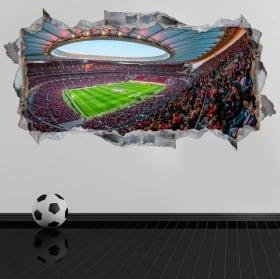 Vinilos 3d estadio wanda metropolitano atlético de madrid