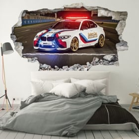 Vinilos y pegatinas 3d motogp bmw m2 safety car