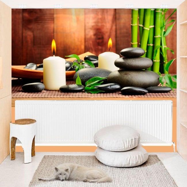 Fotomurales adhesivos estilo zen