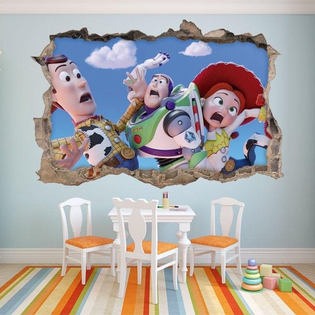 Vinilos decorativos infantiles toy story 4