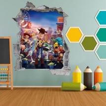 Vinilos infantiles y juveniles 3d toy story 4