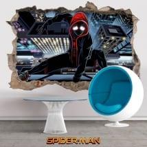 Vinilos y pegatinas 3d spider-man un nuevo universo