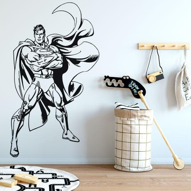 Pegatinas y vinilos decorativos superman