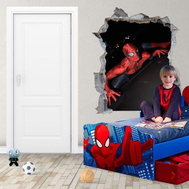 Vinilos adhesivos y pegatinas 3d spiderman