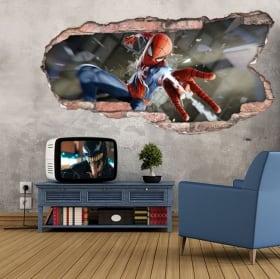 Vinilos y pegatinas 3d spider-man