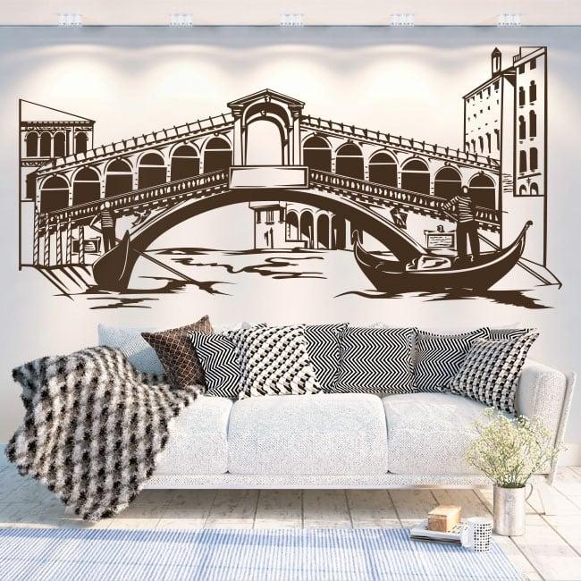 Vinilos decorativos y pegatinas venecia italia