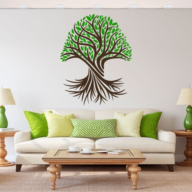 Pegatinas de vinilos el árbol de la vida
