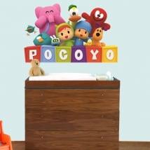 Vinilos decorativos infantiles o de bebé pocoyo
