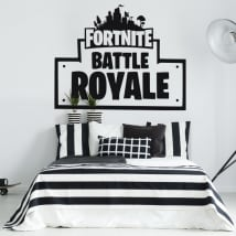 Vinilos decorativos y pegatinas de fortnite battle royale