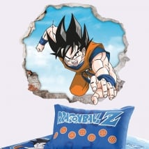 Vinilos decorativos y pegatinas dragon ball 3d