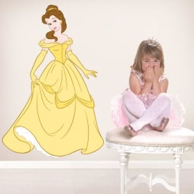 Vinilos infantiles o juveniles disney princesa bella