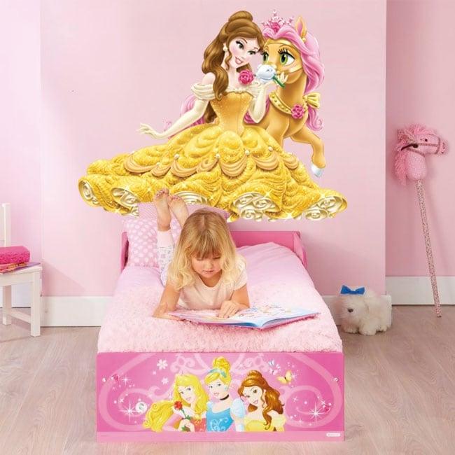 Vinilos infantiles o juveniles princesa y poni