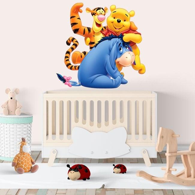 Vinilos Infantiles Disney.Pegatinas De Vinilos Infantiles Disney Winnie The Pooh
