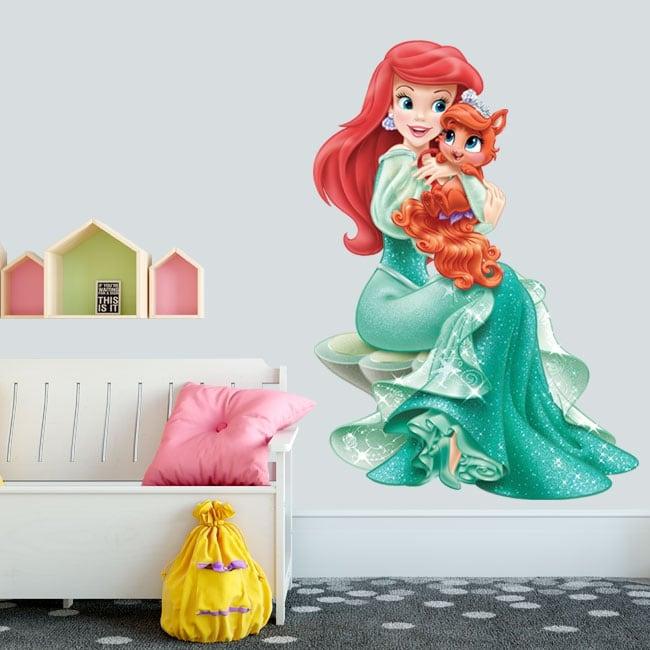 Vinilos infantiles o juveniles disney princesa ariel