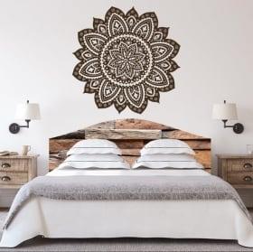 Vinilos mandalas para cabeceros de camas