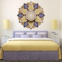 Vinilos y pegatinas con mandalas para cabecero de cama