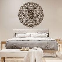 Vinilos mandalas para cabecero de cama