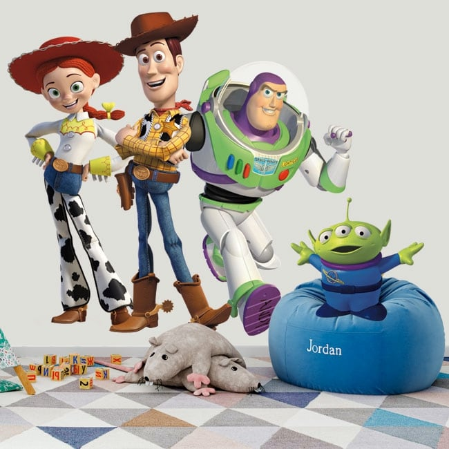 Vinilos adhesivos infantiles toy story
