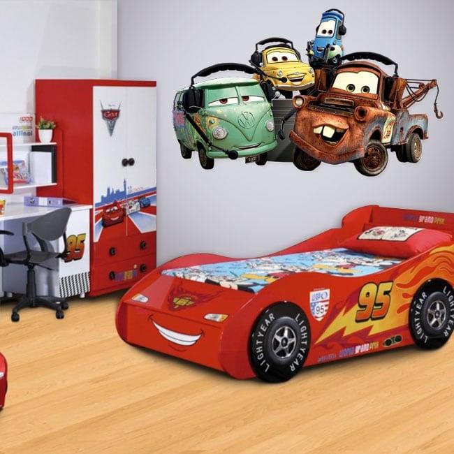 Vinilos infantiles disney cars