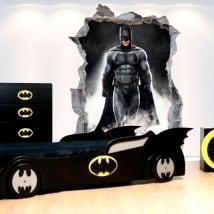 Pegatinas de vinilos decorativos 3d batman