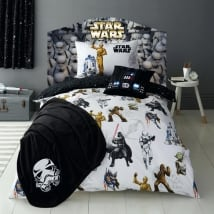 Vinilos cabeceros camas star wars