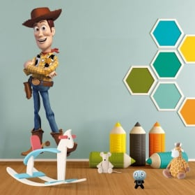 Vinilos infantiles woody toy story
